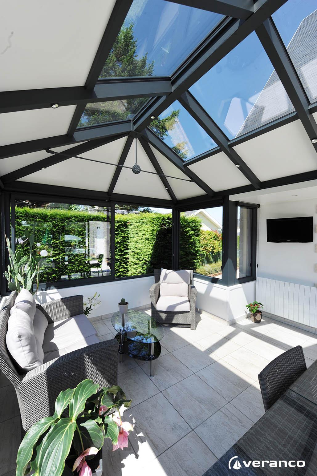 veranda veranco gonfreville l 39 orcher. Black Bedroom Furniture Sets. Home Design Ideas
